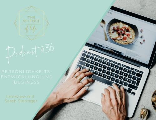 Podcast #36 | Persönlichkeitsentwicklung und Business