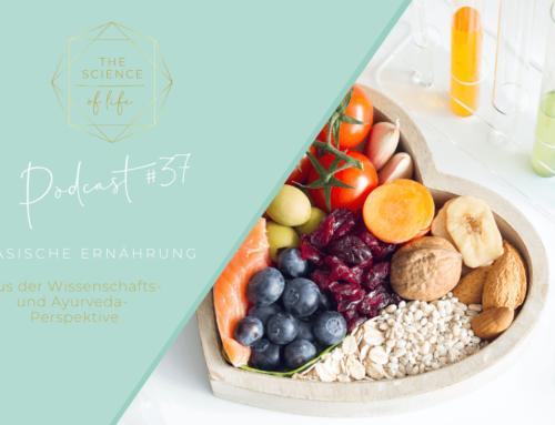 Podcast #37 | Basische Ernährung aus der Wissenschafts- & Ayurveda-Perspektive
