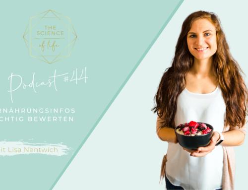 Podcast #45 | Ernährungsinfos richtig bewerten