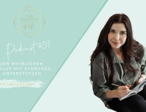 Podcast #51 | Den weiblichen Zyklus mit Ayurveda unterstützen